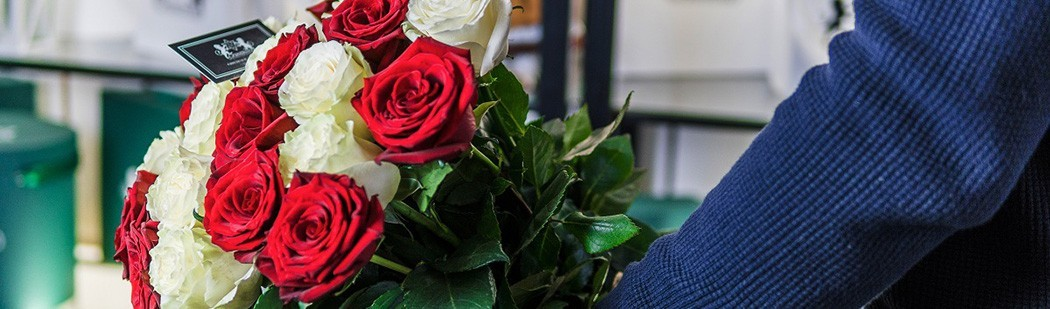 Букеты 25 роз